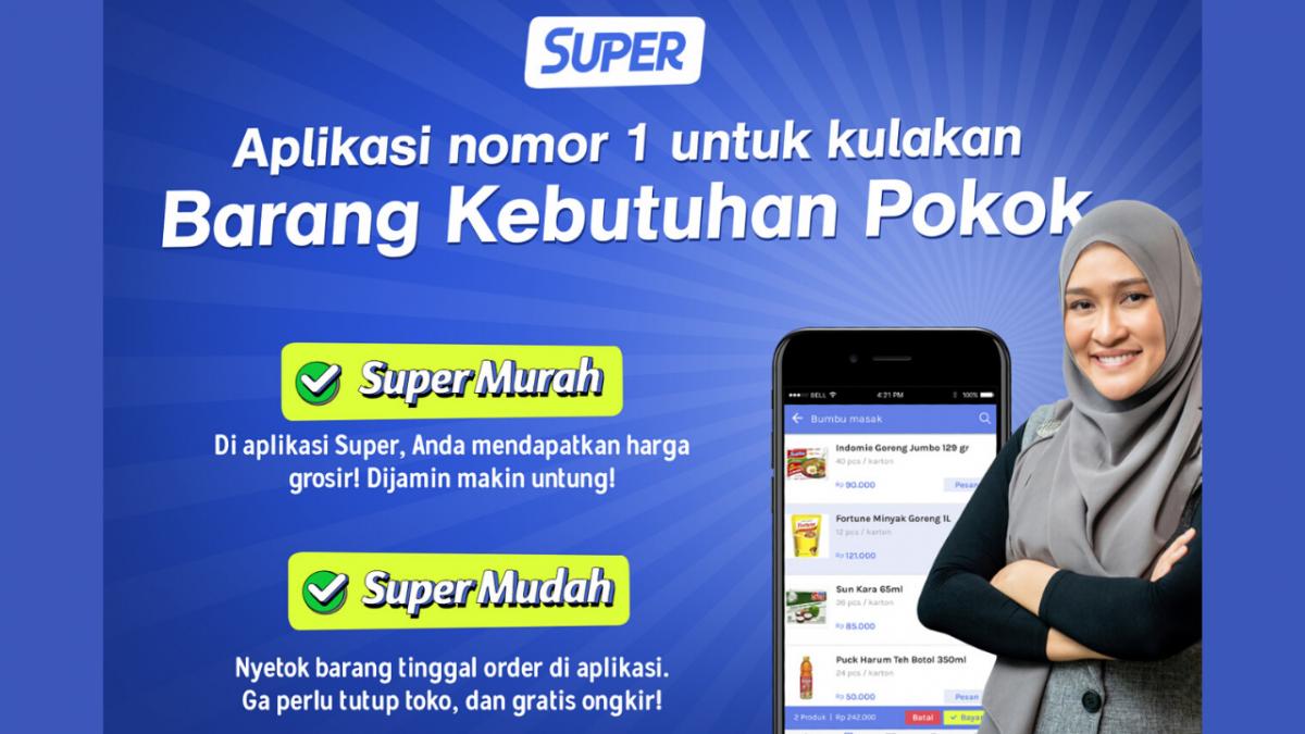 Super Mudah! Begini Cara Belanja Sembako di Aplikasi Super