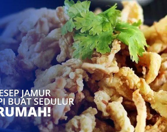 8 Ide Resep Jamur Crispy Buat Sedulur di Rumah!