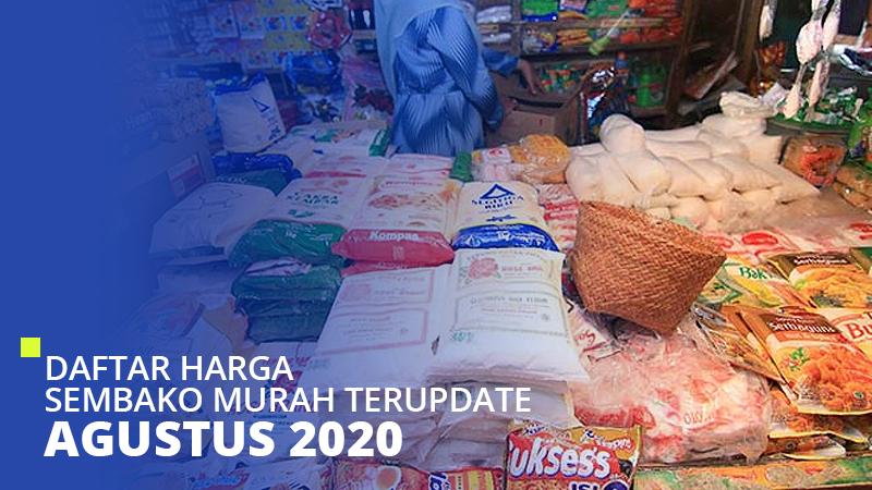 Daftar Harga Sembako Murah Terupdate Januari 2021