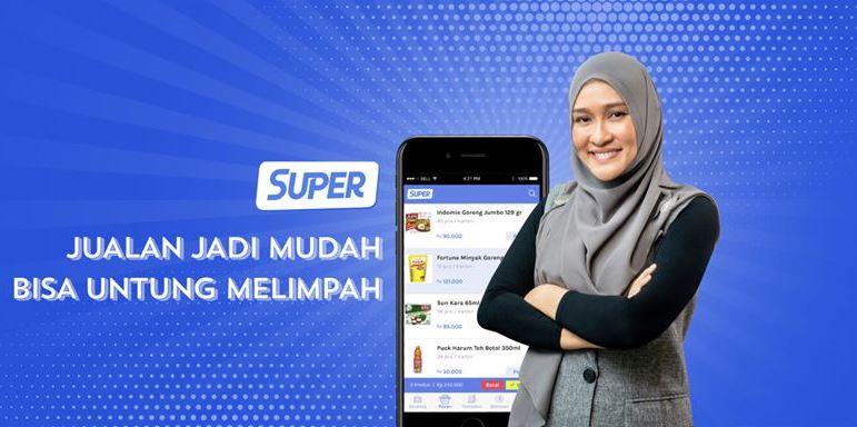 6.  Gabung Menjadi Super Agen di Aplikasi Super
