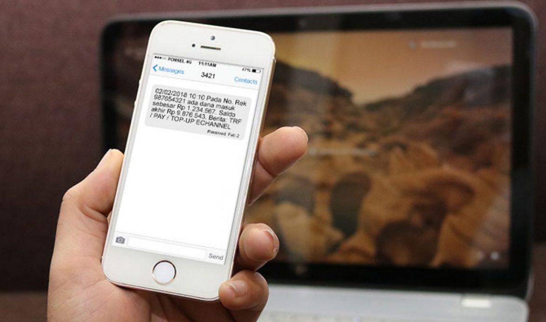 1. Cara Transfer Pulsa Via SMS