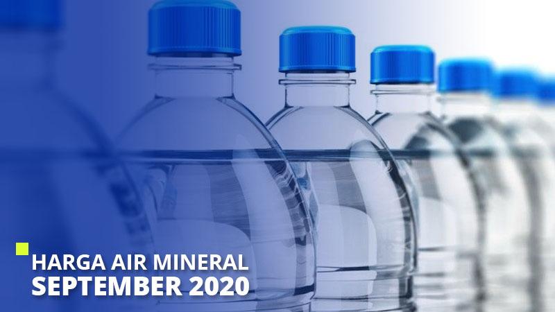 Harga Air Mineral September 2020