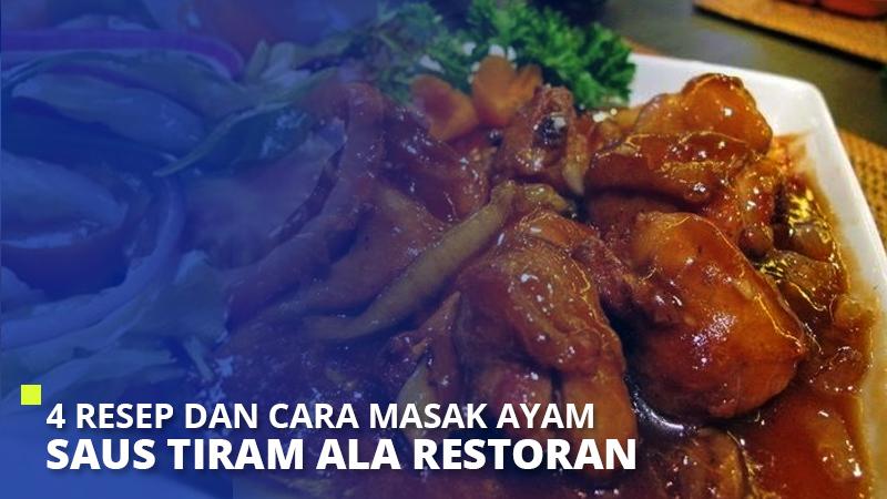 4 Resep dan Cara Masak Ayam Saus Tiram Ala Restoran