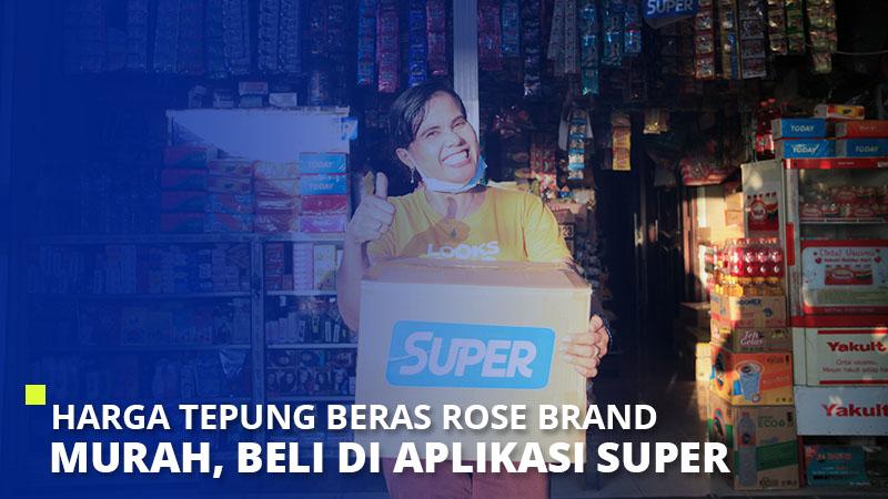 Harga Tepung Beras Rose Brand Murah, Beli di Aplikasi Super