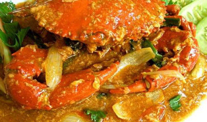 Kepiting Nanas Kuah Santan