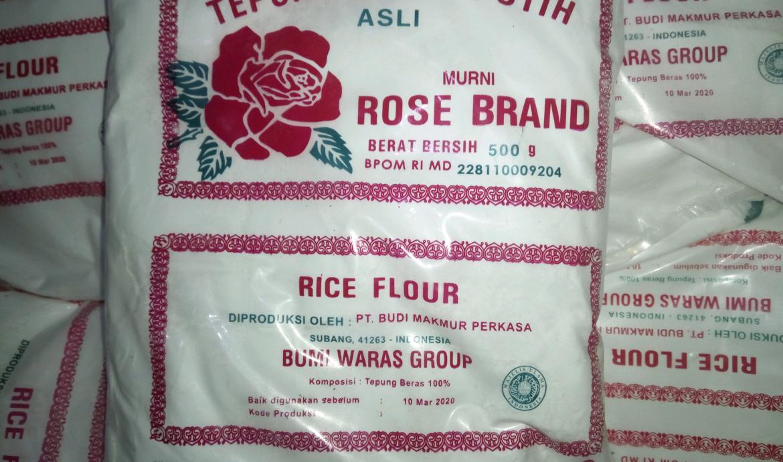Varian Tepung Beras Rose Brand