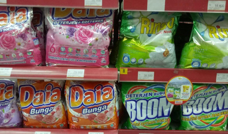 Harga Deterjen Rinso di Minimarket