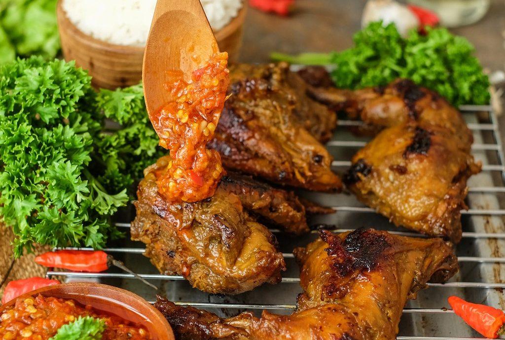 Ayam Panggang Saus Tiram