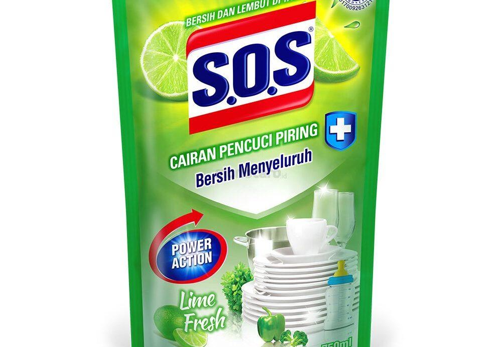 SOS Dishwashing Antibacterial Lemon