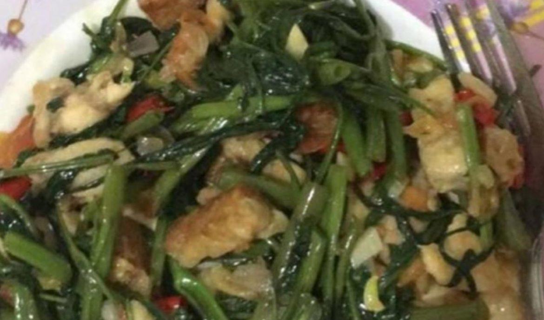 Tumis Kangkung Ayam