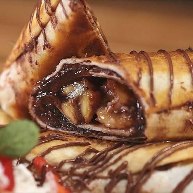 11.   Kebab Pisang Coklat