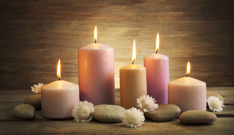 12.   Lilin Aroma Terapi