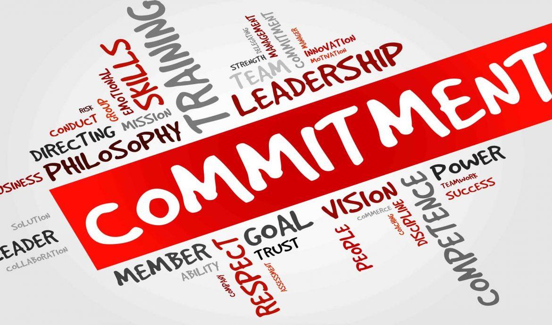 Memiliki Komitmen Sebagai Pengusaha