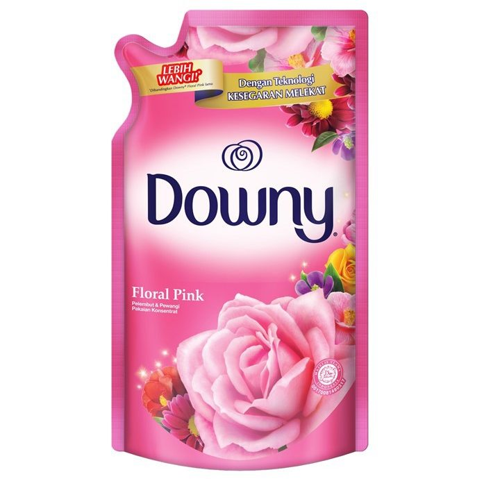 2.   Downy Floral Pink