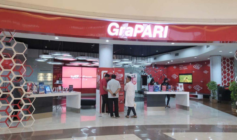 Pusat Layanan Pelanggan GraPARI terdekat