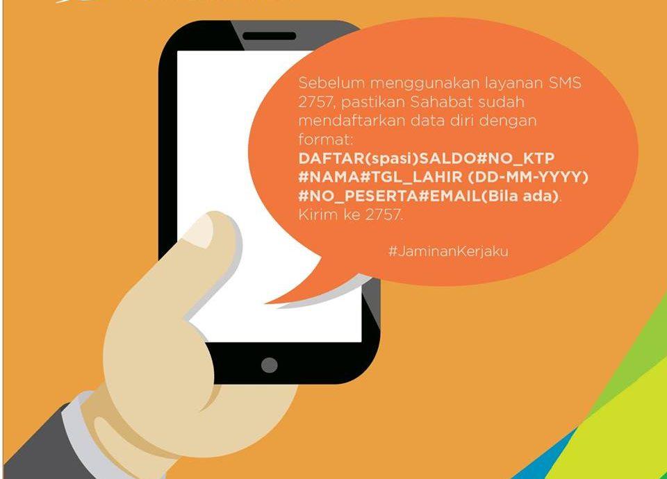Cara Cek Saldo JHT Melalui SMS
