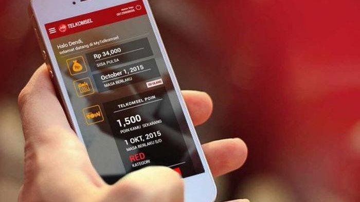 3.   Transfer Pulsa Telkomsel Melalui Aplikasi MyTelkomsel