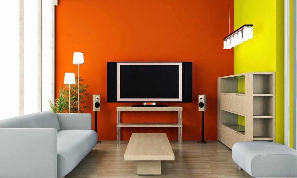 4.   Menggunakan Dindin Berwarna Kuning atau Orange