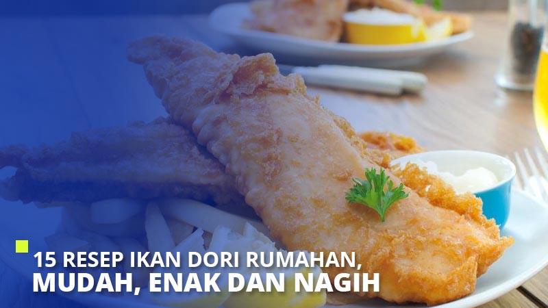 resep ikan dori rumahan mudah enak  nagih super Resepi Ikan Dori Sweet Sour Enak dan Mudah
