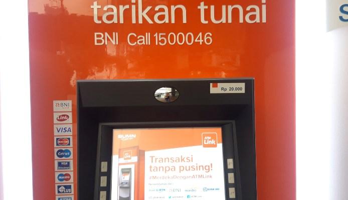 Cek Saldo JHT BPJS via ATM Bank BNI