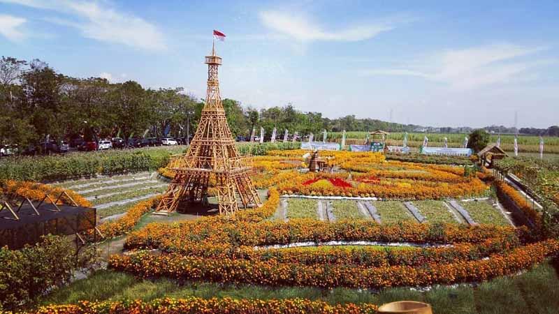 5.   Taman Dewi Cemara Cettar Kediri