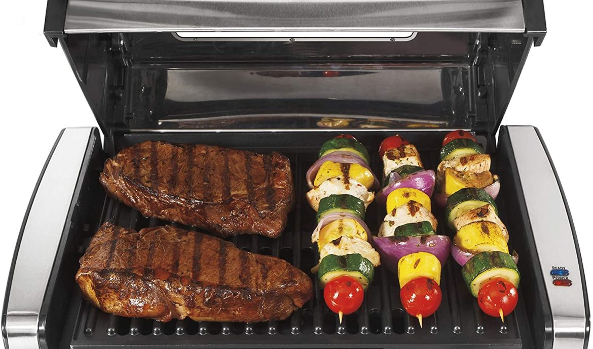 Electric Barbeque Grill Set 3