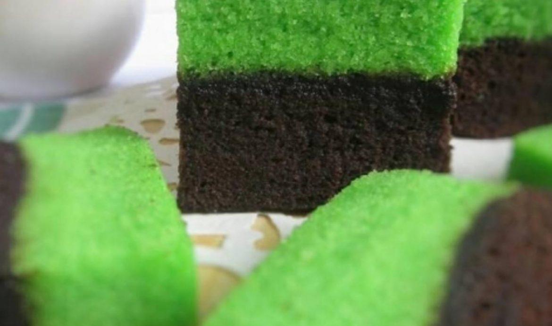 2. Brownies Pandan
