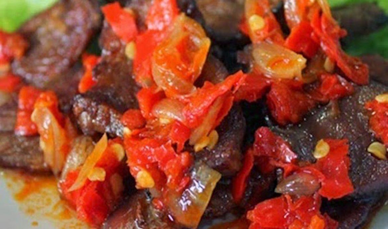 9. Daging Sapi Balado