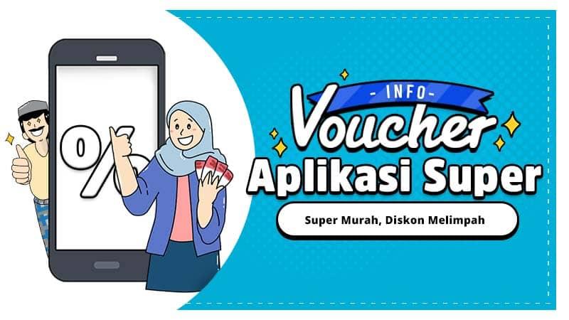 Info Voucher Super Bohay 5 Ribu, Borong Habis Shay!