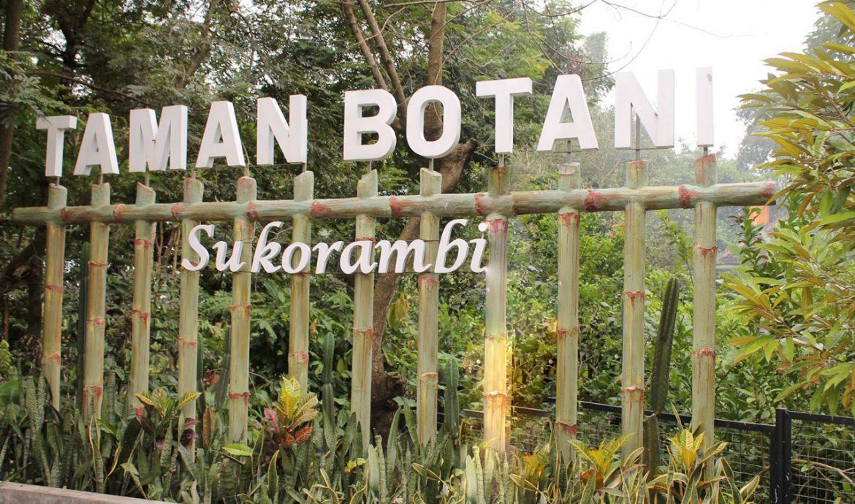 1. Lokasi Taman Botani Jember