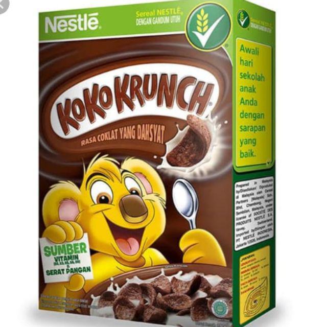 1.   Nestle's Koko Krunch (330 gram)