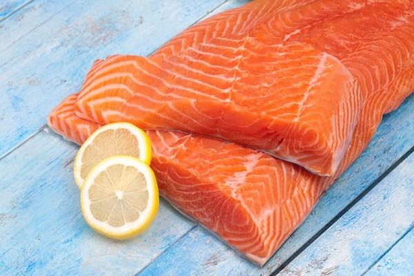 2.   Marinasi Ikan Salmon Selama 20 Menit