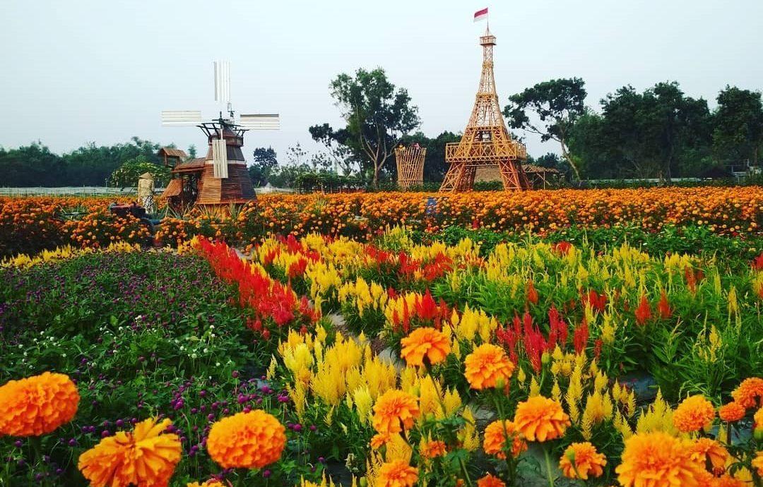 3.   Taman Dewi Cemara Cettar Kediri