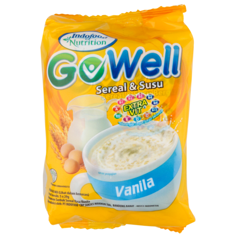 5.   Gowell Instant Cereal (10 Sachet)
