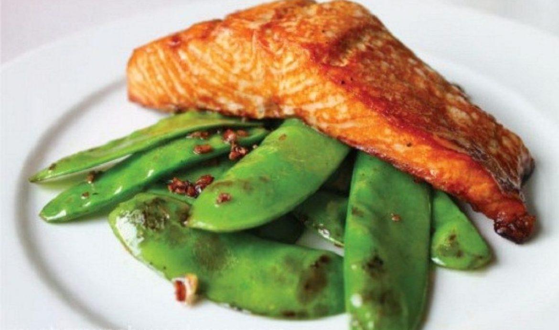 5.   Ikan Salmon Kukus