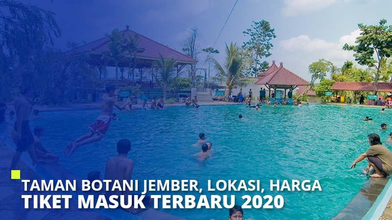 Taman Botani Jember, Lokasi, Harga Tiket Masuk Terbaru 2021