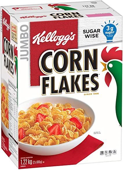 7.   Kellogg's Corn Flakes (275 gram)