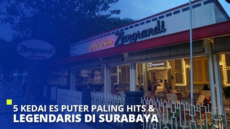 5 Kedai Es Puter yang Paling Hits & Legendaris di Surabaya