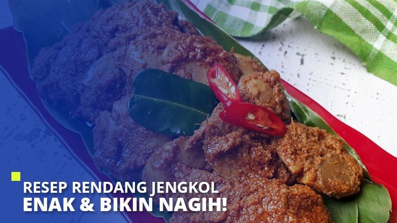 Resep Rendang Jengkol Enak & Bikin Nagih!