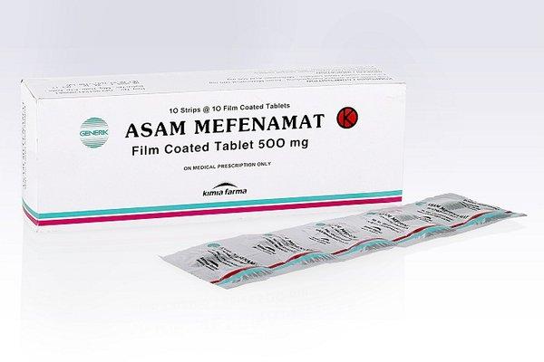 2. Asam Mefenamat