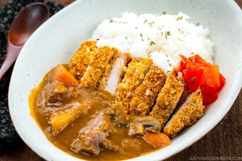 2. Chicken Katsu Curry Rice