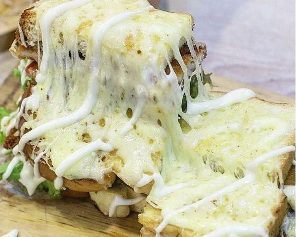 3. Chicken Katsu Mozzarella
