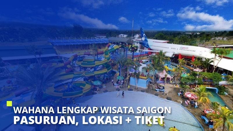 Wahana Lengkap Wisata Saigon Pasuruan, Lokasi + Tiket