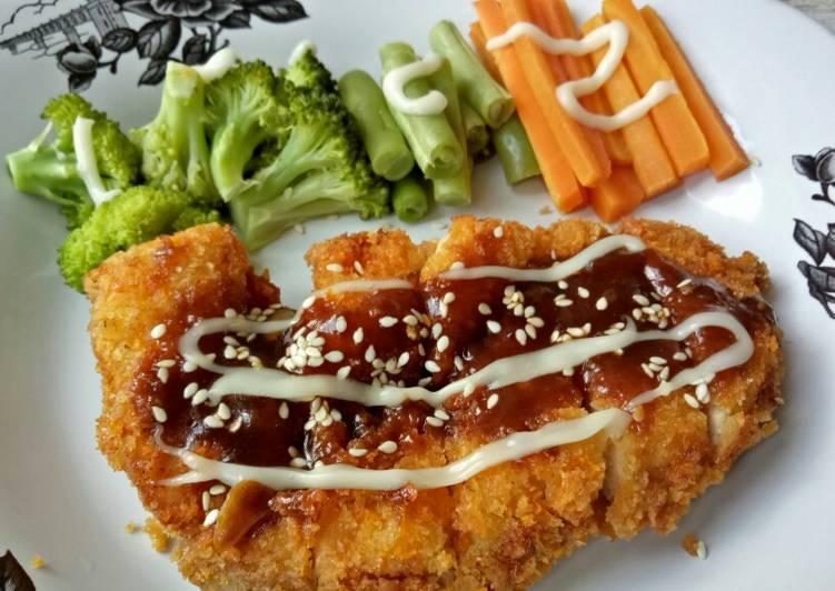4. Chicken Katsu Teriyaki