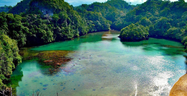 41.   Pantai Segara Anakan dan Pulau Sempu
