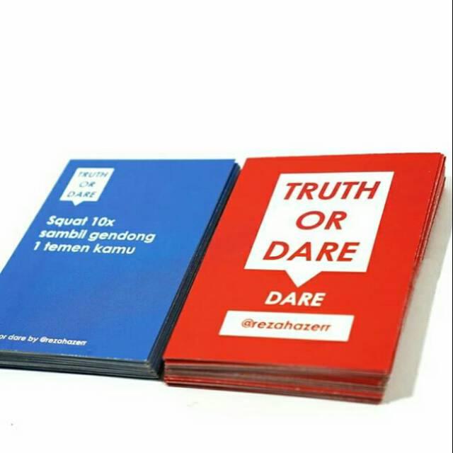 5.   Bermain Truth or Dare