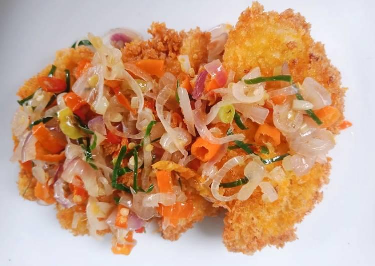 6. Chicken Katsu Sambal Matah