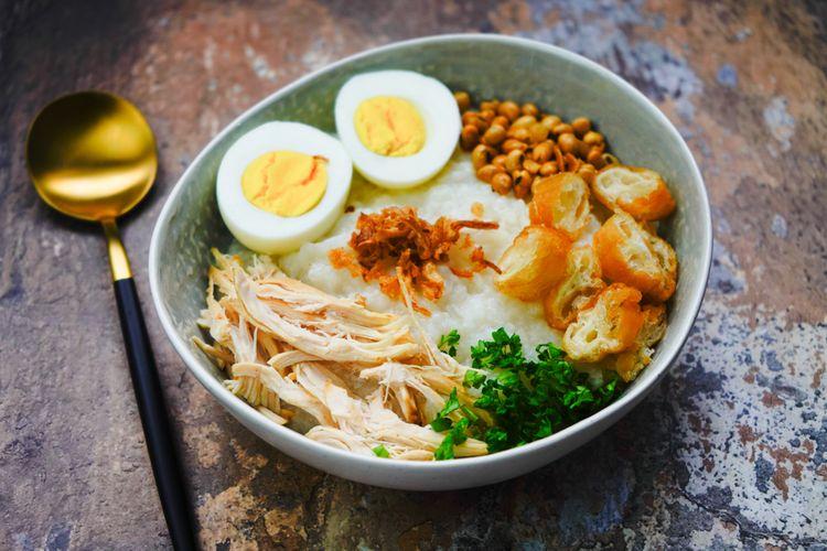8.   Bubur Ayam