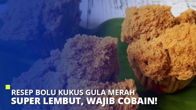 Resep Bolu Kukus Gula Merah Super Lembut, Wajib Cobain!