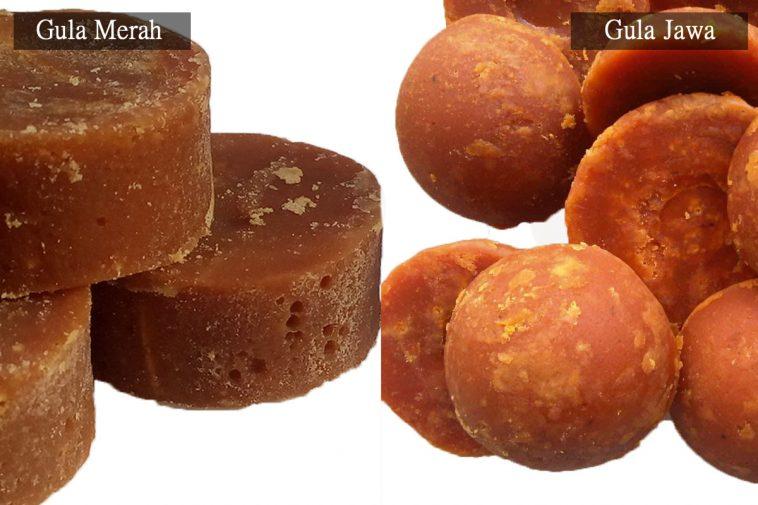2. Warna Gula yang Berbeda